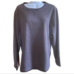 D & Co by QVC Fleece Sweatshirt size 1X